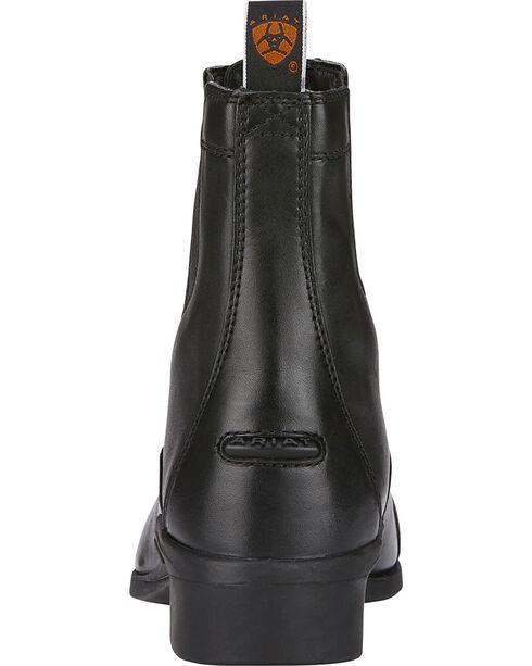 Ariat Heritage Zipper Paddock Riding Boots - Round Toe, Black, hi-res