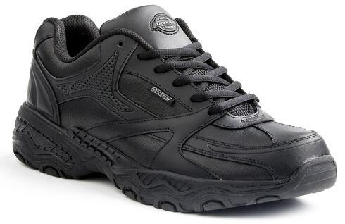 Dickies Women's Slip Resistant Rival Work Shoes, Black, hi-res