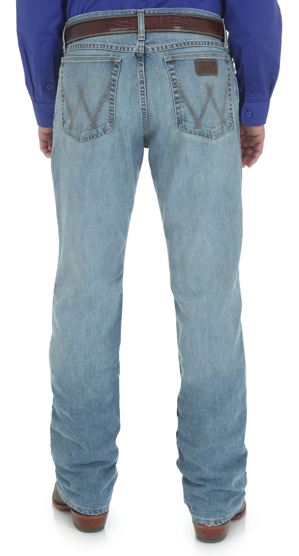 Wrangler Men's 20X Cool Vantage Competition Slim Jeans - Ocean Blue, Denim, hi-res