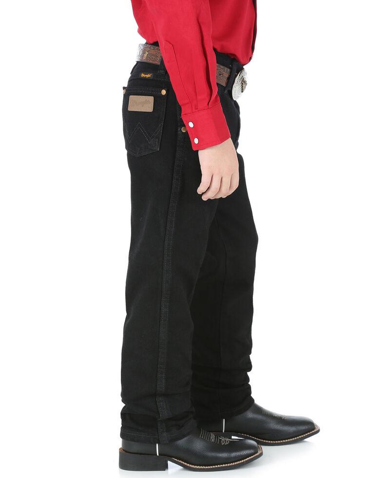 Wrangler Jeans - Cowboy Cut - 4-7 Regular/Slim, Black, hi-res