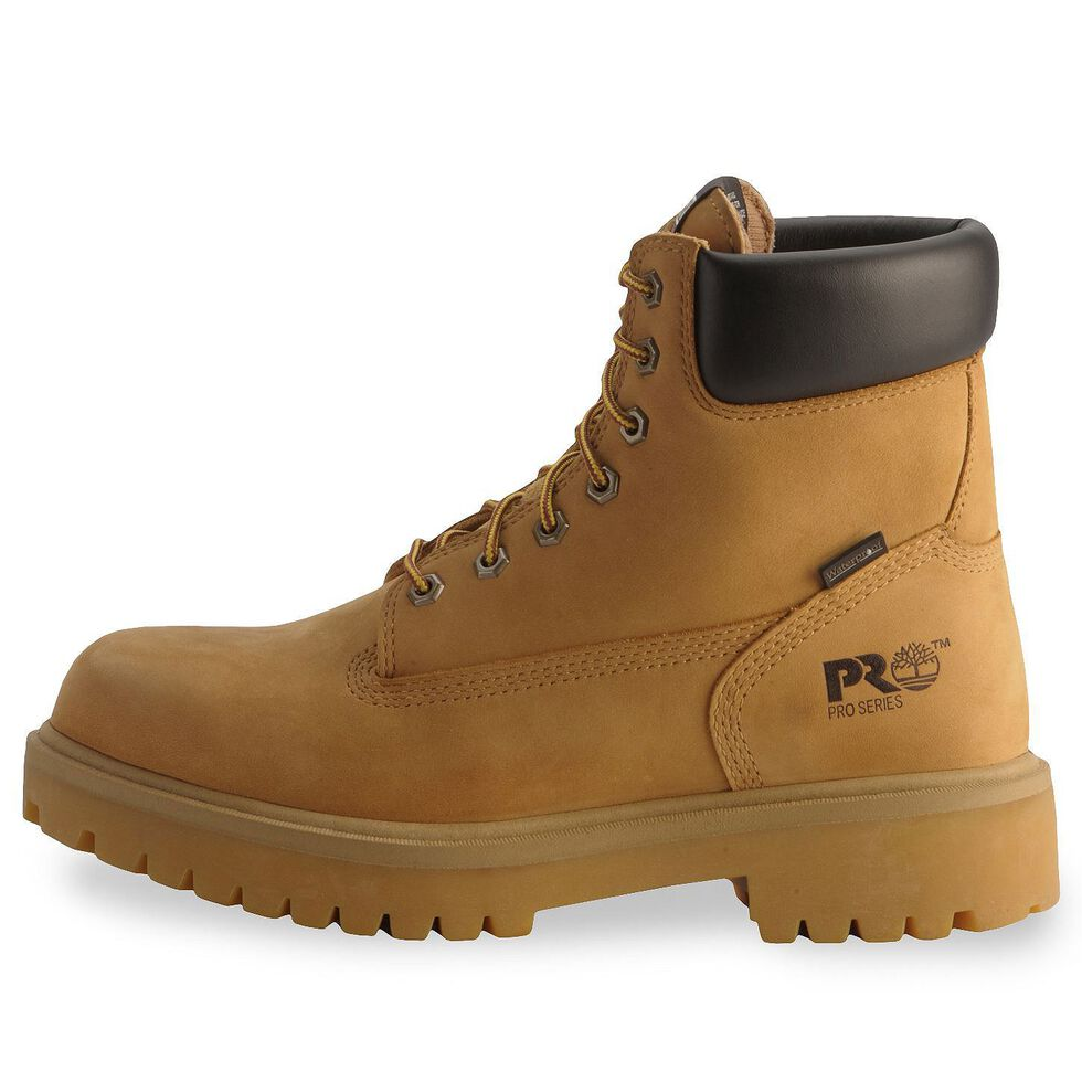 """Timberland Pro 6"""" Insulated Waterproof Boots - Soft Toe, Wheat, hi-res"""