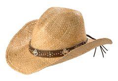 Blazin Roxx Studs & Bling Raffia Straw Cowgirl Hat, Natural, hi-res