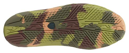 Ariat Boys' Orange & Green Camo Sole Caldwell Boat Shoes , Earth, hi-res