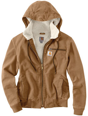 Carhartt Weathered Duck Wildwood Jacket, Brown, hi-res