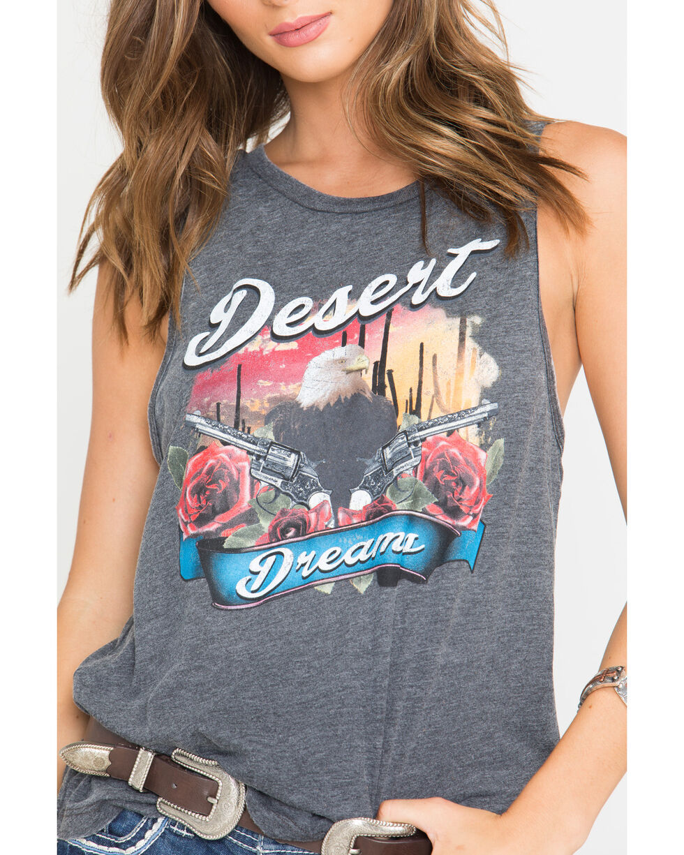 Shyanne Women's Desert Dreams Tank Top , Black, hi-res