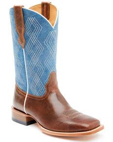 Cody James Men's Shasta Blue Western Boots - Wide Square Toe, Blue, hi-res