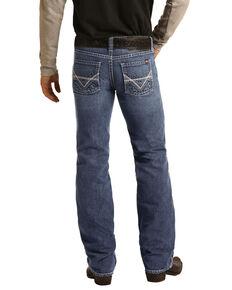 Rock & Roll Denim Men's FR Pistol Light Classic Straight Work Jeans , Blue, hi-res