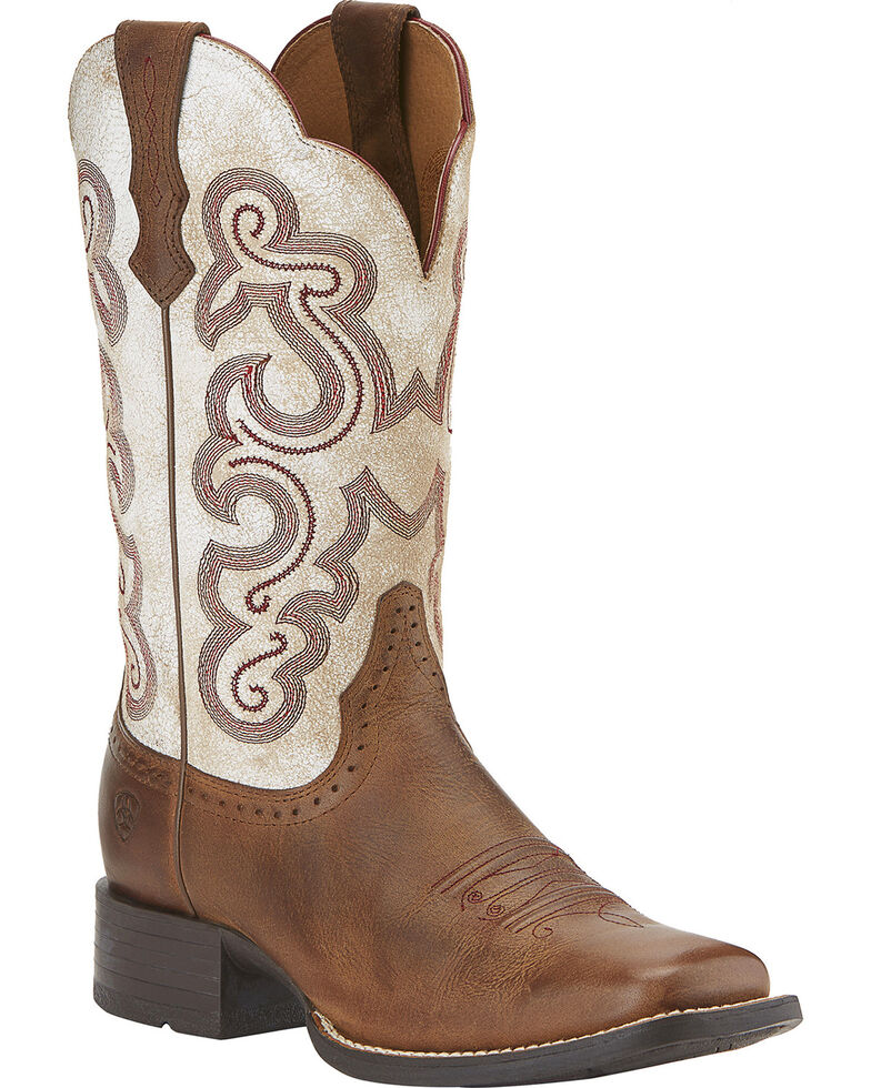 03dacb8855c Ariat Women's Quickdraw Cowgirl Boots - Square Toe