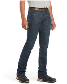 Ariat Men's M7 Bodie Rebar Durastretch Slim Straight Work Jeans , Indigo, hi-res