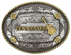 Cody James Men's Tennessee Belt Buckle, No Color, hi-res