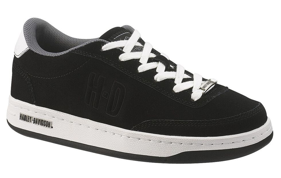 Harley Davidson Static Shoes - Steel Toe, Black, hi-res