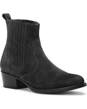 Frye Women's Black Diana Chelsea Booties - Medium Toe , Black, hi-res