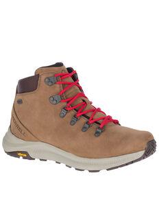 Merrell Men's Ontario Waterproof Hiking Boots - Soft Toe, Brown, hi-res