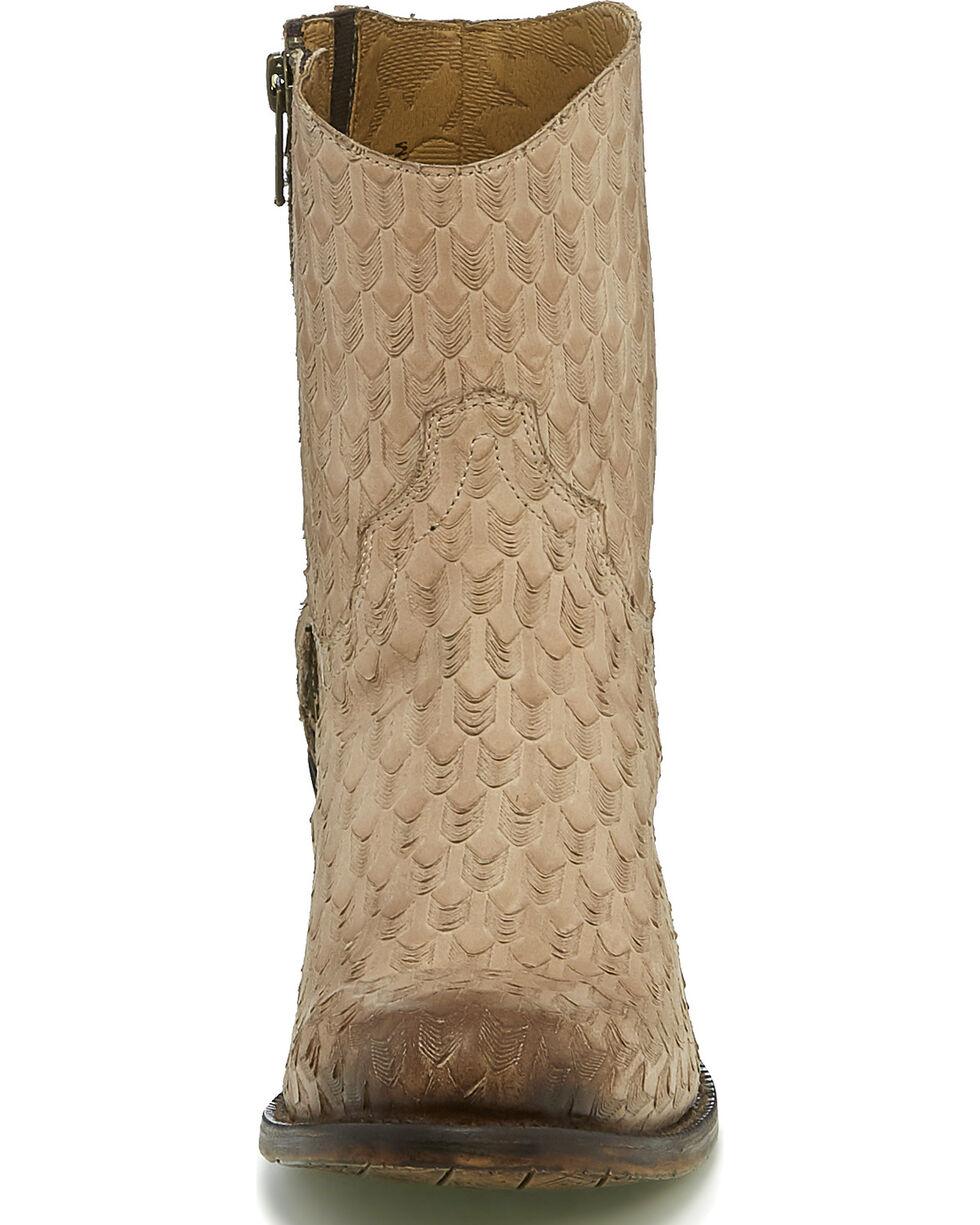 Tony Lama Women's Arrows Short Western Boots - Round Toe, Tan, hi-res