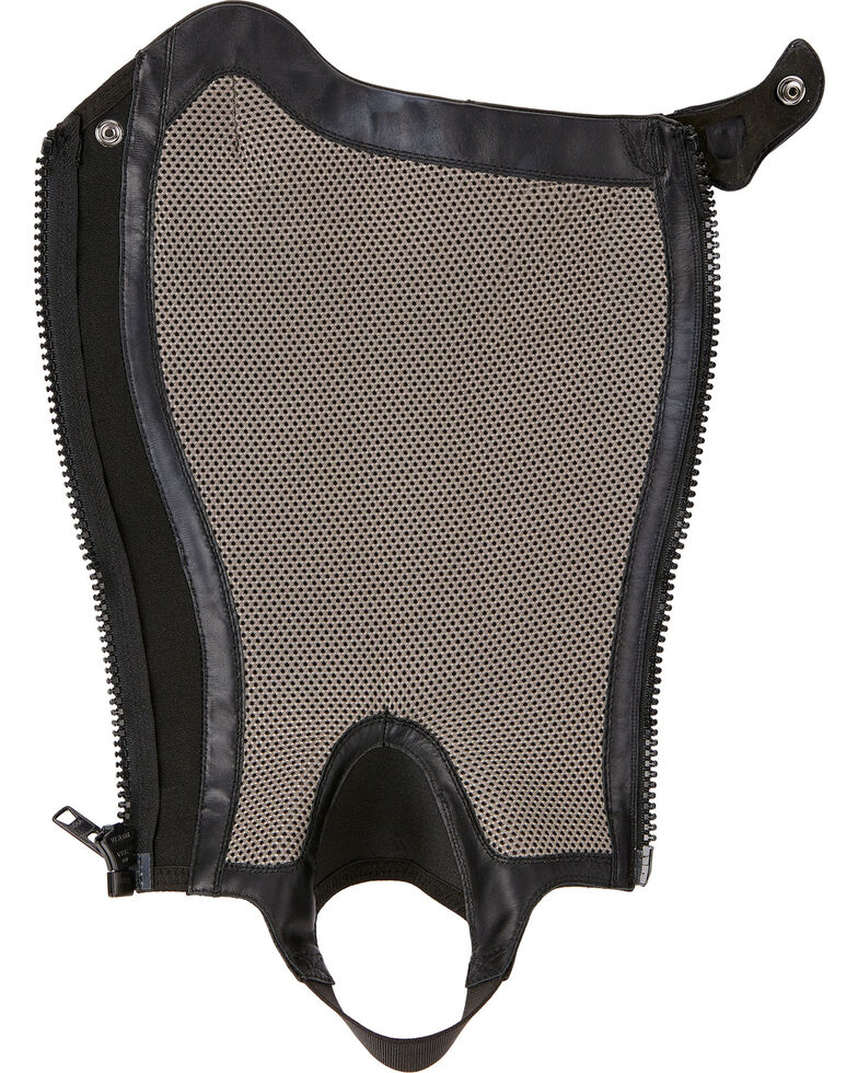 Ariat Unisex V Sport Chaps, Black, hi-res