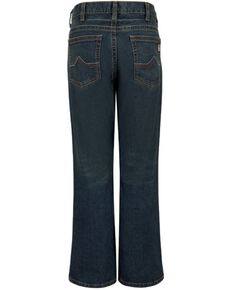 Bulwark Men's FR Relaxed Boot Work Jeans , Indigo, hi-res