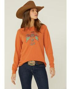 HOOey Women's Thunderbird Pullover Top, Rust Copper, hi-res