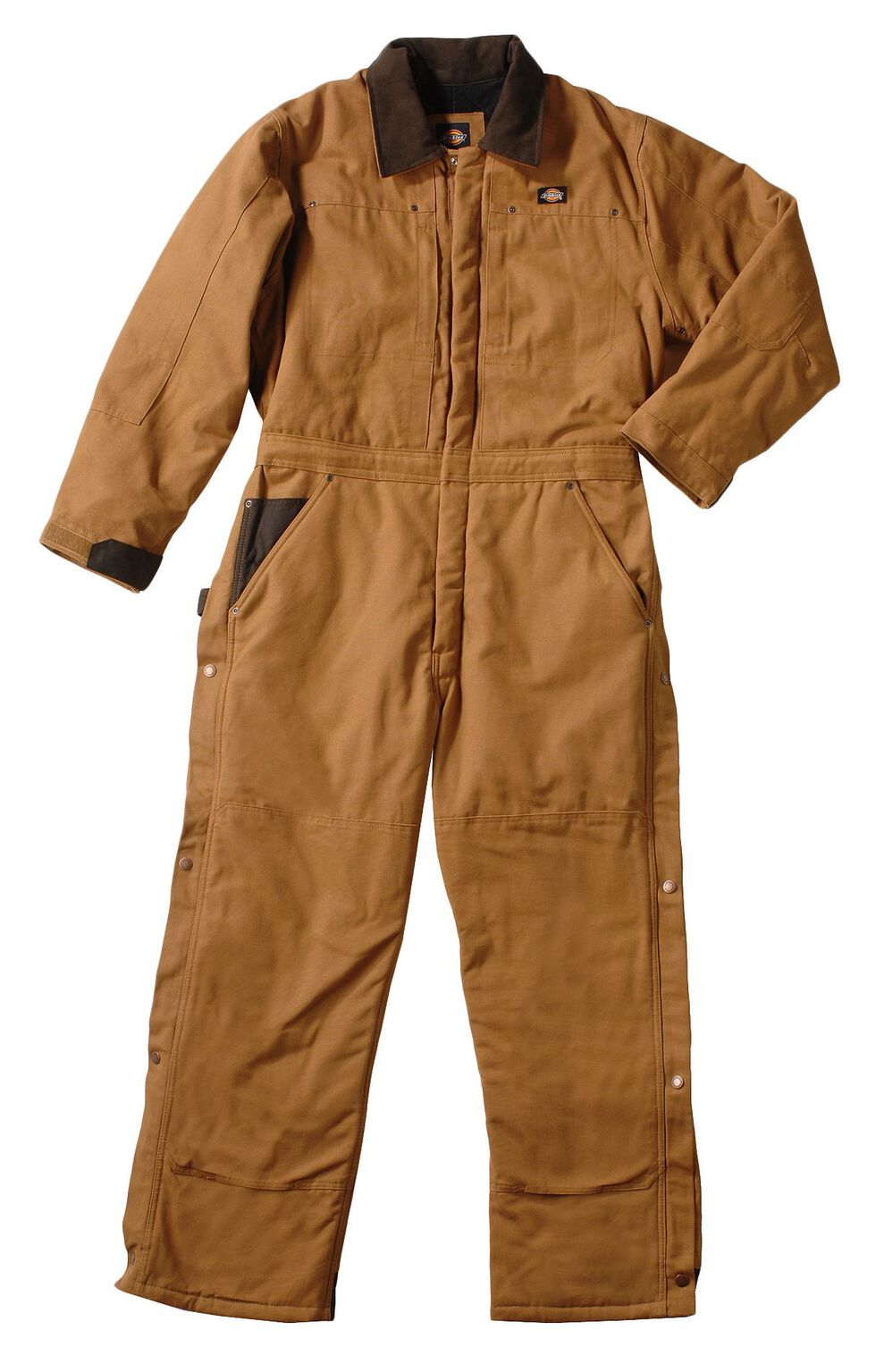 Dickies ® Insulated Coveralls - Big & Tall, Brown Duck, hi-res