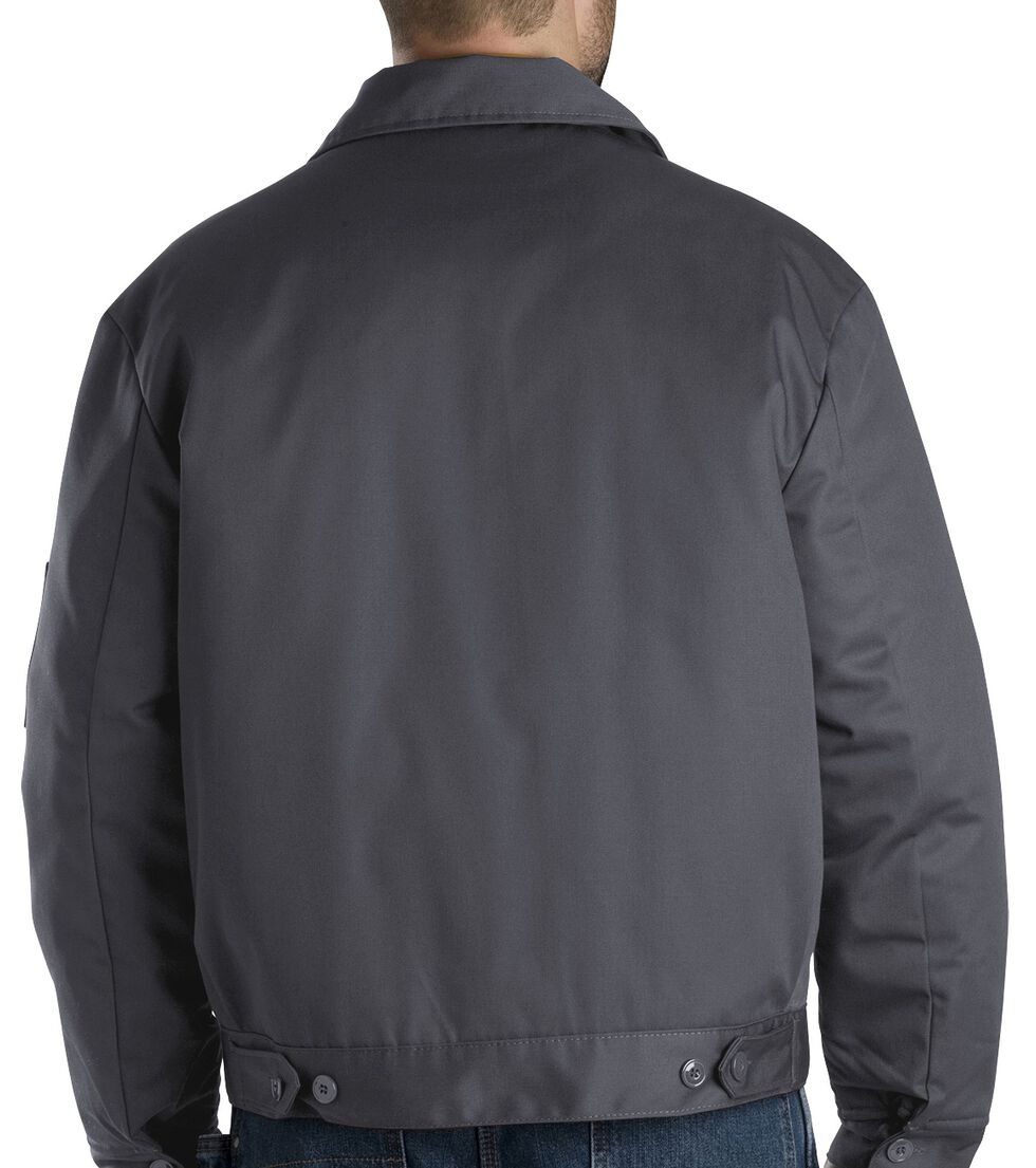 Dickies ® Insulated Eisenhower Jacket, Charcoal Grey, hi-res