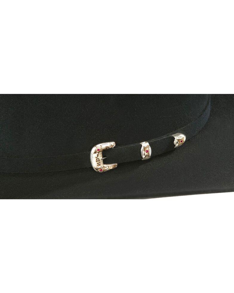 Stetson El Patron 30X Fur Felt Western Hat, Black, hi-res