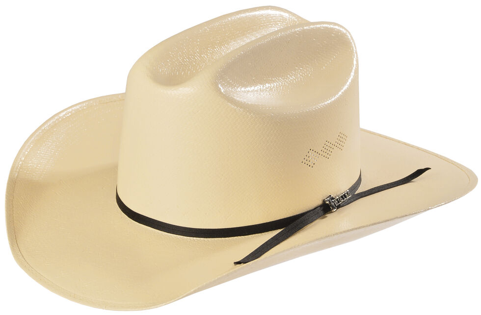 Twister 8X Shantung Double S Straw Cowboy Hat, Natural, hi-res