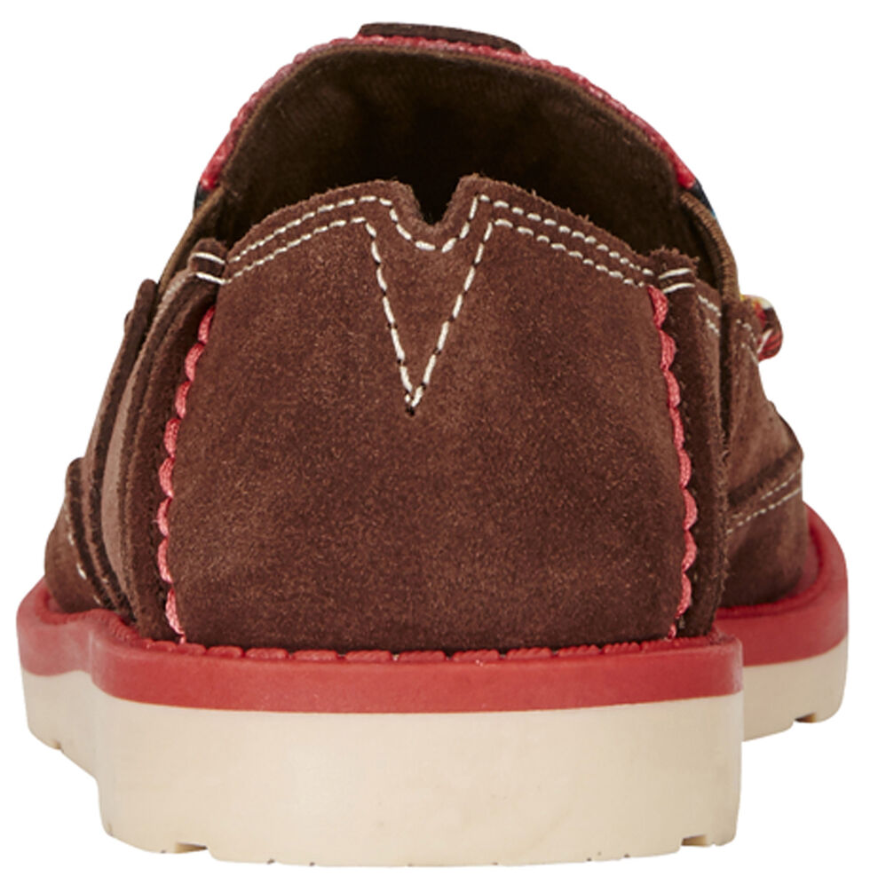Ariat Kid's Brown Cruiser Shoes - Moc Toe, Brown, hi-res