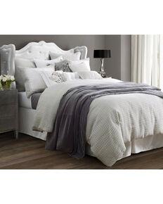 4-Piece HiEnd Accents Wilshire Super Queen Comforter Set, Light Grey, hi-res