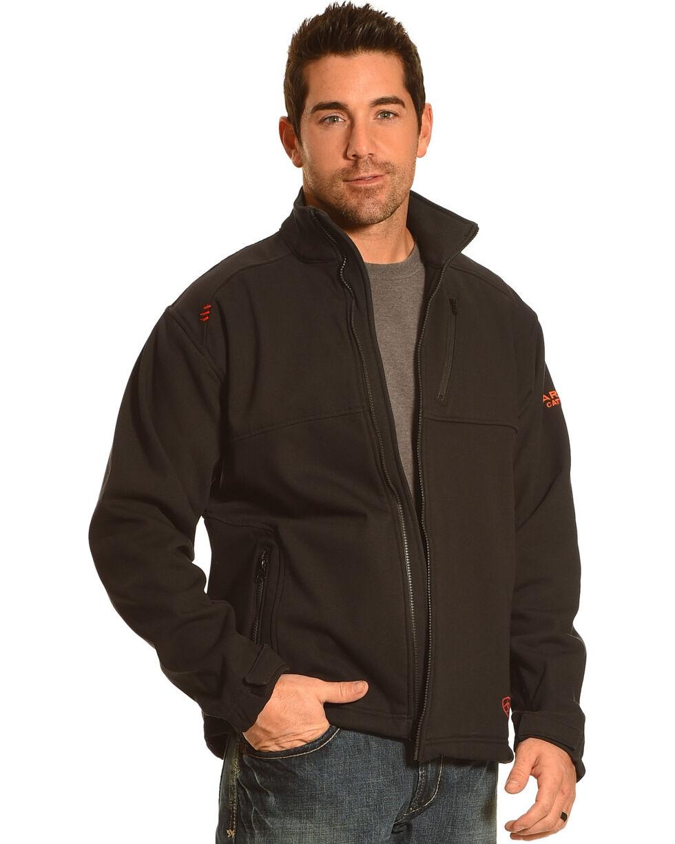 Ariat Men's Work Fire Resistant Black Work Jacket, Black, hi-res