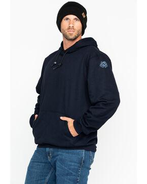 NSA Men's Heavyweight Pullover FR Work Sweatshirt - 2X-3X , Navy, hi-res
