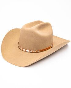 ada294eec97 Stetson Mens High Roller Fawn Western Hat