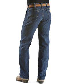 Wrangler 13MWZ Jeans Cowboy Cut Original Fit Prewashed Jeans , Dark Stone, hi-res