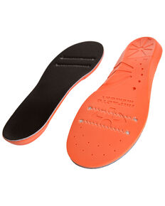 Impacto Anti-Fatigue Memory Foam ESD Insoles - Men's Size 12-13, Black/orange, hi-res