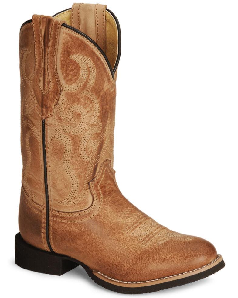 Smoky Mountain Toddlers' Boys' Showdown Cowboy Boots, Bomber, hi-res