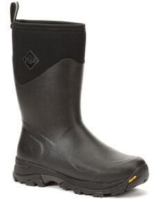 Muck Boots Men's Arctic Ice Rubber Boots - Round Toe, Black, hi-res