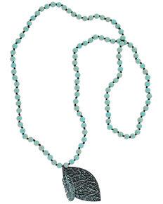 Montana Silversmiths Women's Flowingly Imprinted Necklace, No Color, hi-res