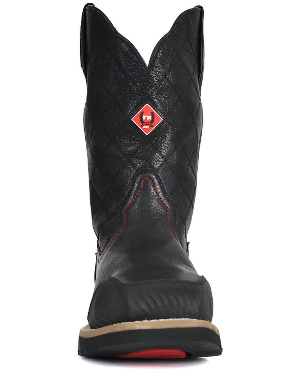 Cinch® WRX Men's Flame Resistant Steel Toe Work Boots, Black, hi-res