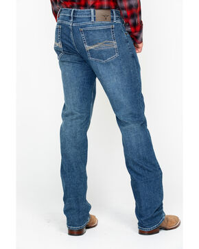 Wrangler 20X Men's No. 44 Lindale Slim Straight Medium Wash Jeans, Blue, hi-res