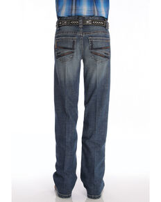 Cinch Boys' Performance Relaxed Boot Jeans , Blue, hi-res