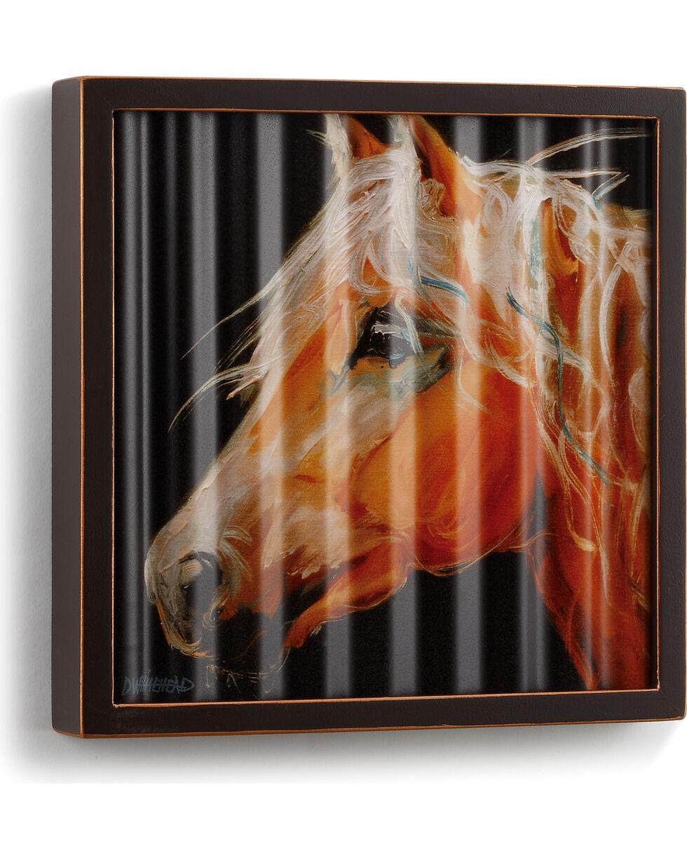 Big Sky Carvers Horse Head Corrugated Metal Art, Dark Brown, hi-res