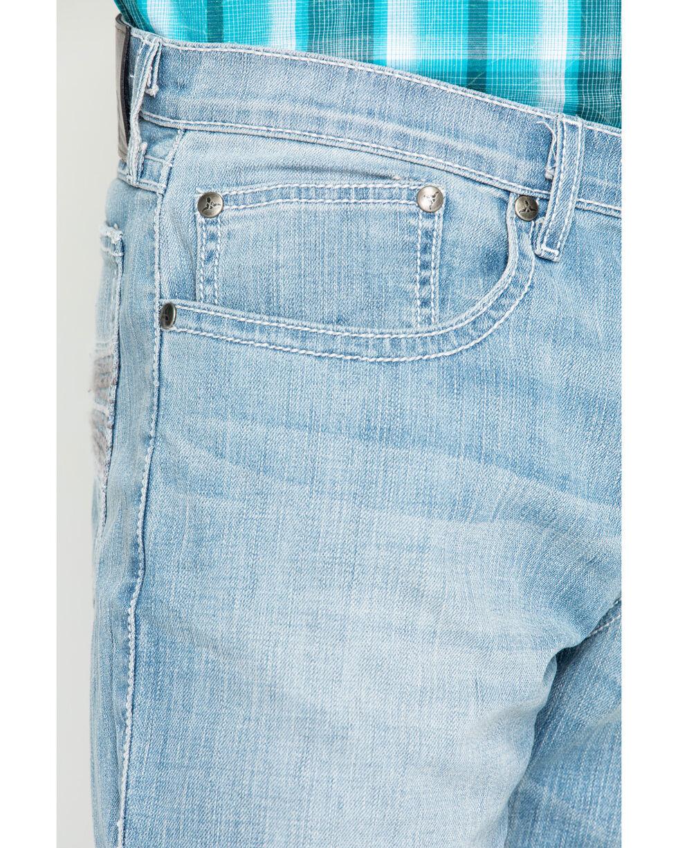 Wrangler 20X Men's Roanoke Boot Cut Jeans, Blue, hi-res