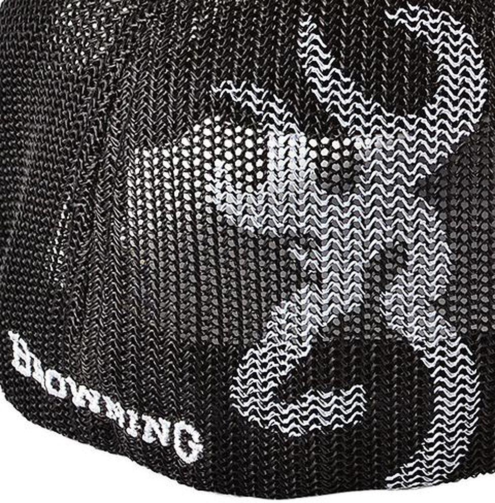 Browning Buckmark Logo Flex Fit Cap - S/M, Brown, hi-res