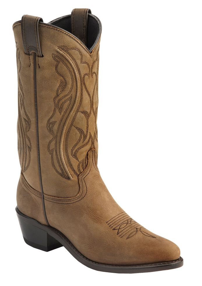 Sage by Abilene Cowgirl Boots - Medium Toe, Distressed, hi-res