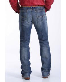 Cinch Men's Ian Medium Stone Slim Boot Jeans , Indigo, hi-res