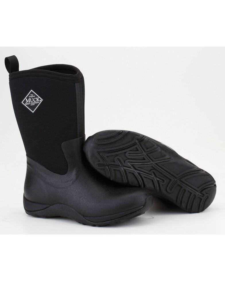 Muck Boots Black Arctic Weekend Boots, Black, hi-res