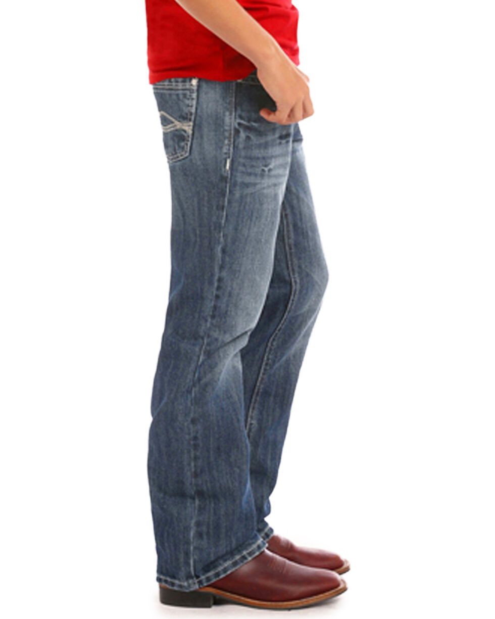 Rock & Roll Cowboy Boys' BB Gun Regular Fit Jeans (4-20) - Boot Cut, Indigo, hi-res