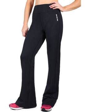 Ariat Women's Black Circuit Training Pant, Black, hi-res