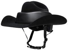 Resistol Ridesafe Cowboy Hat , Black, hi-res