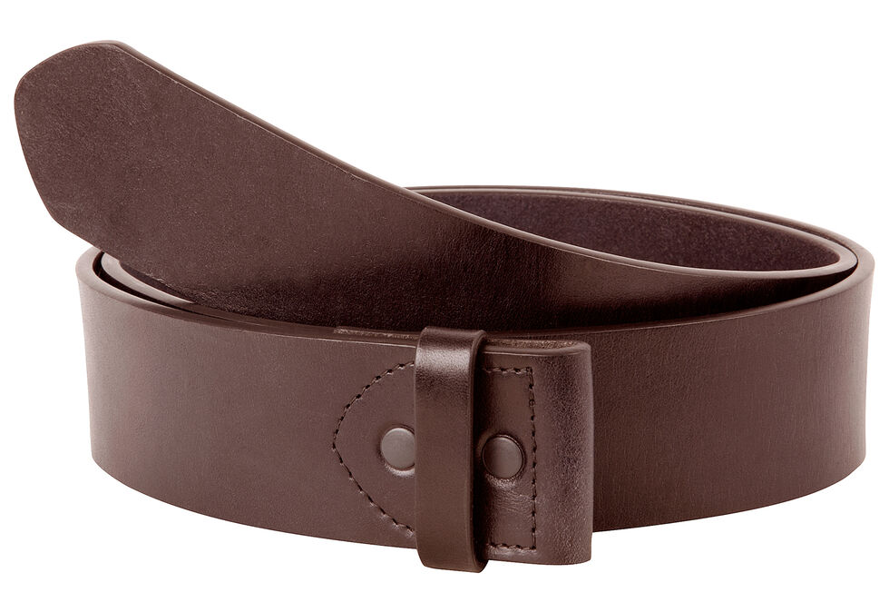 Mountain Khakis Men's MK Leather Belt (Belt Only) , Brown, hi-res