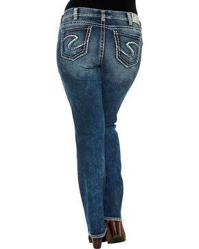 Silver Women's Indigo Suki Boot Cut Jeans - Plus Size , Indigo, hi-res
