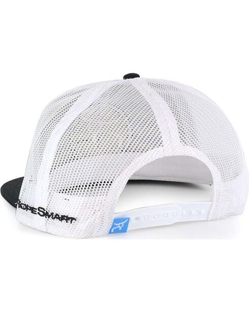 RopeSmart Men's Blue Gear Striped Snapback Cap , Blue/white, hi-res